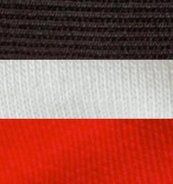 Black-White True Red