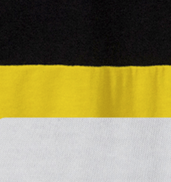 Black-Yellow White