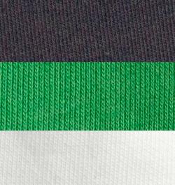 Black-Boldgreen White